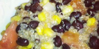 Black Bean and Quinoa Salad 1