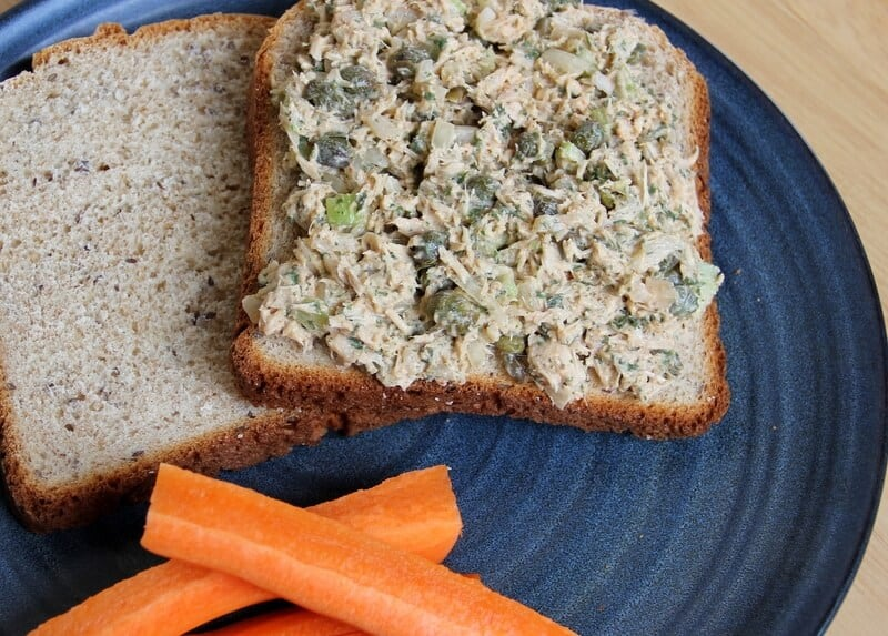 Tahini Tuna Salad