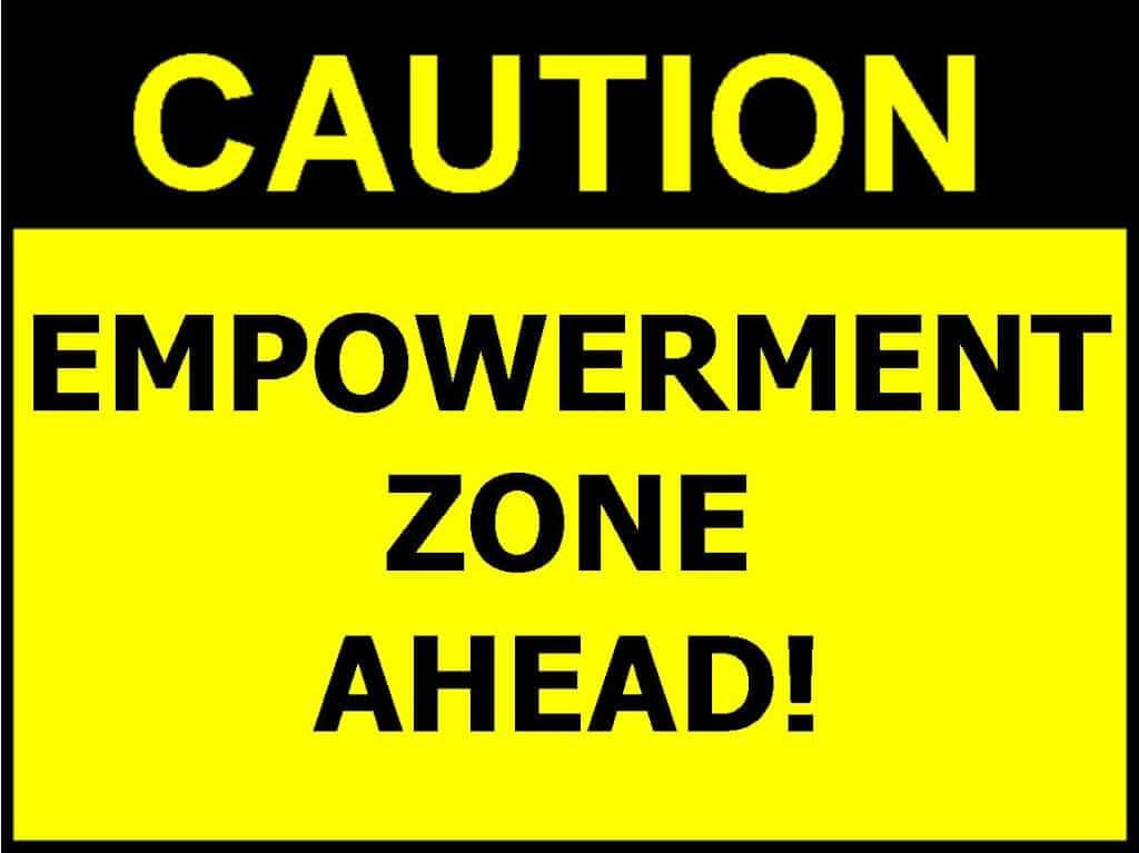 Empowerment Zone Ahead