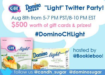 Time To Get Sweet Domino/C&H Light Twitter Party