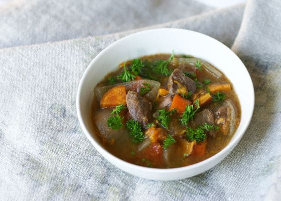 Slow Cooker Bison Stew