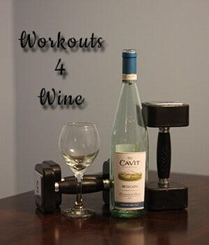 Workouts 4 wine week 2