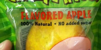 Why Flavored Apples Should Not be in School Lunches