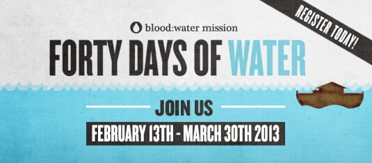 Blood water mission 40 day challenge mamavation