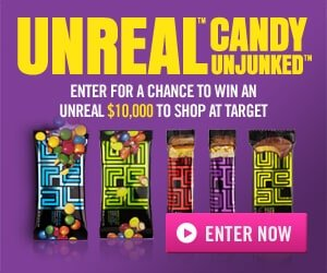 Win $500 Target Gift Card with UNREAL Sweepstakes - MAMAVATION