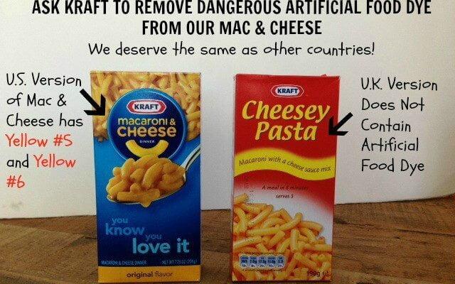 Demand Kraft Drop Yellow #5 & Yellow #6 from Mac & Cheese Online Rally