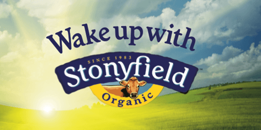 Wake up with Stonyfield Mamavation