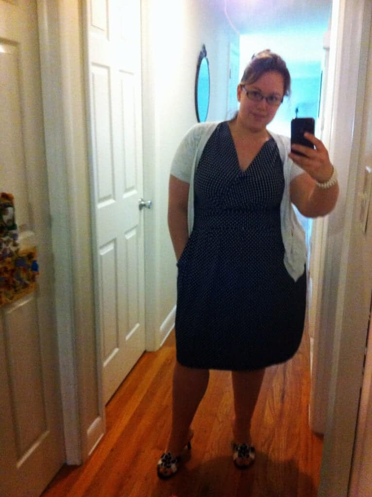 Look at me rocking my new dress!