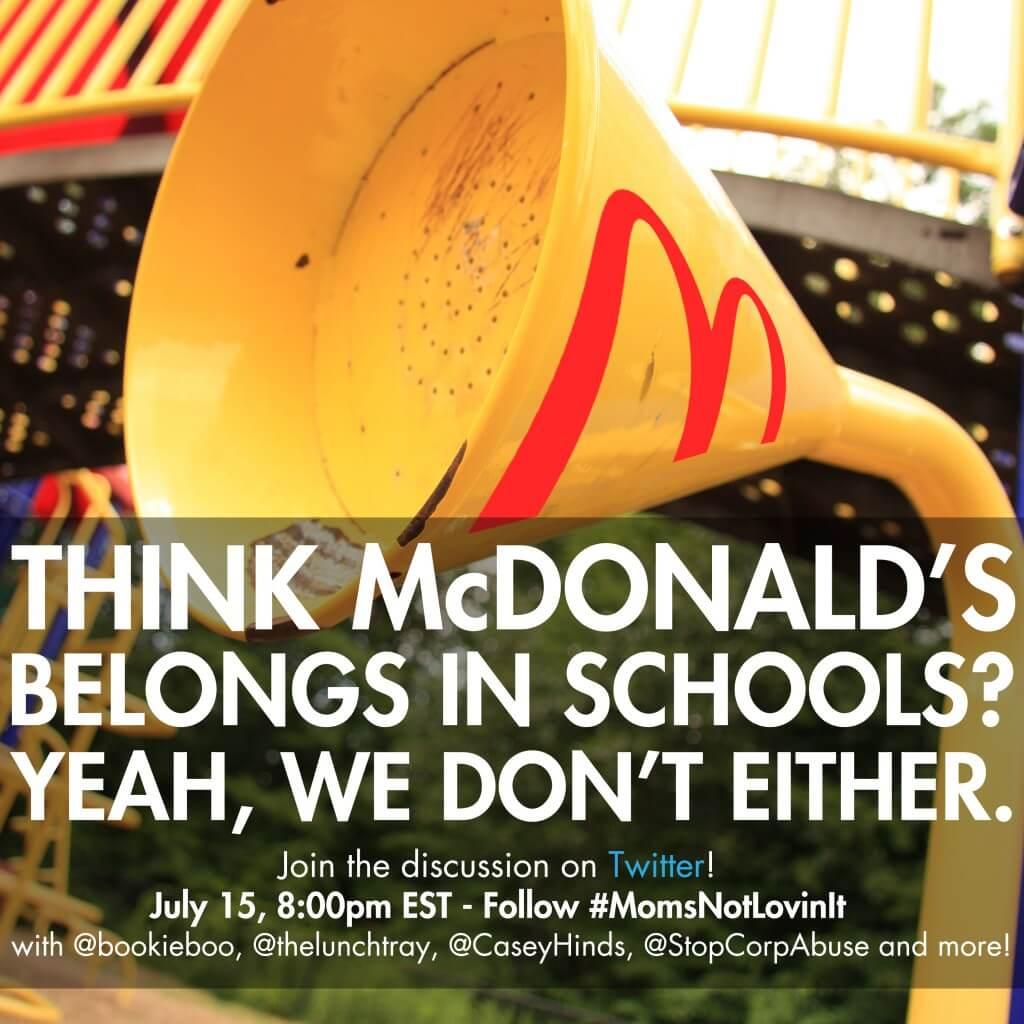 Momsnotlovingit McDonalds Mamavation Chat
