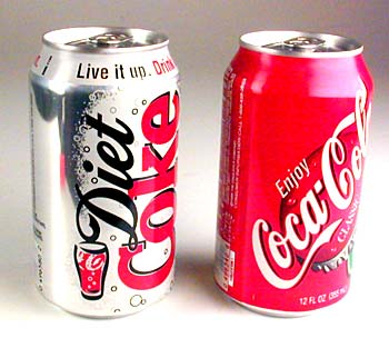 Soda Cans Steps to Wellness Twitter Party