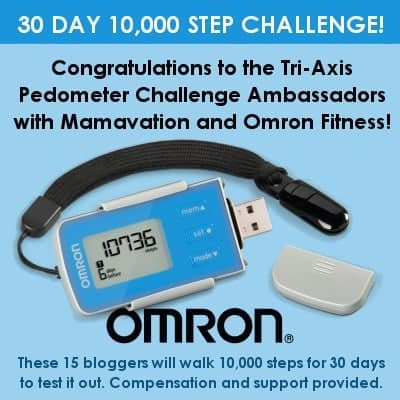 Congratulations to the Tri-Axis Pedometer Challenge Ambassadors!