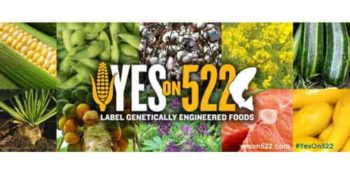 Label GMOs Blogging Carnival for Washington State #Yeson522