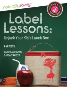 Label Lessons: Unjunk Your Kid's Lunch Box