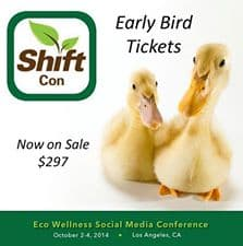 Announcing ShiftCon Eco/Wellness Social Media Conference 1