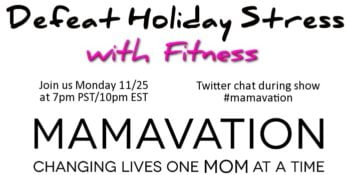 Ashley Turner on Mamavation TV 11/25 7pm PST/10pm EST