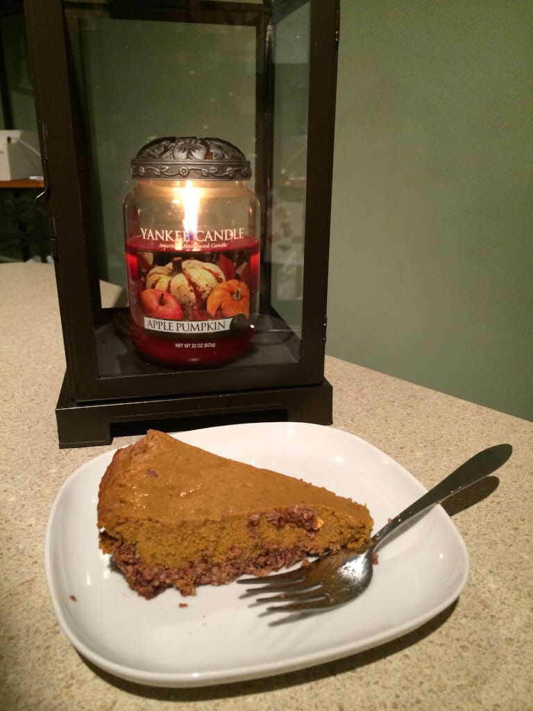 Vegan Low Glycemic Pumpkin Pie Recipe
