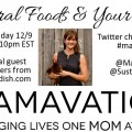 Mamavation TV on 12/9 Discusses Ancestral Foods