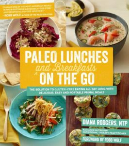 Diana's book Paleo Lunches and Breakfasts On the Go