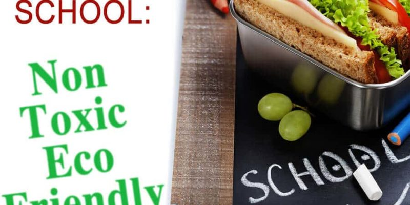 Back to School: Non-Toxic and Eco-Friendly School Supplies
