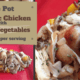 One Pot Organic Chicken with Wild Rice and Vegetables 1