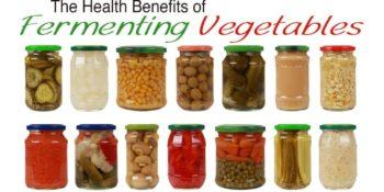fermenting vegetables