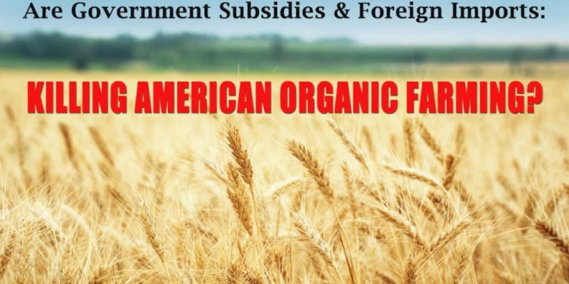 How Subsidies & Imports are Killing Organic Farming in the US