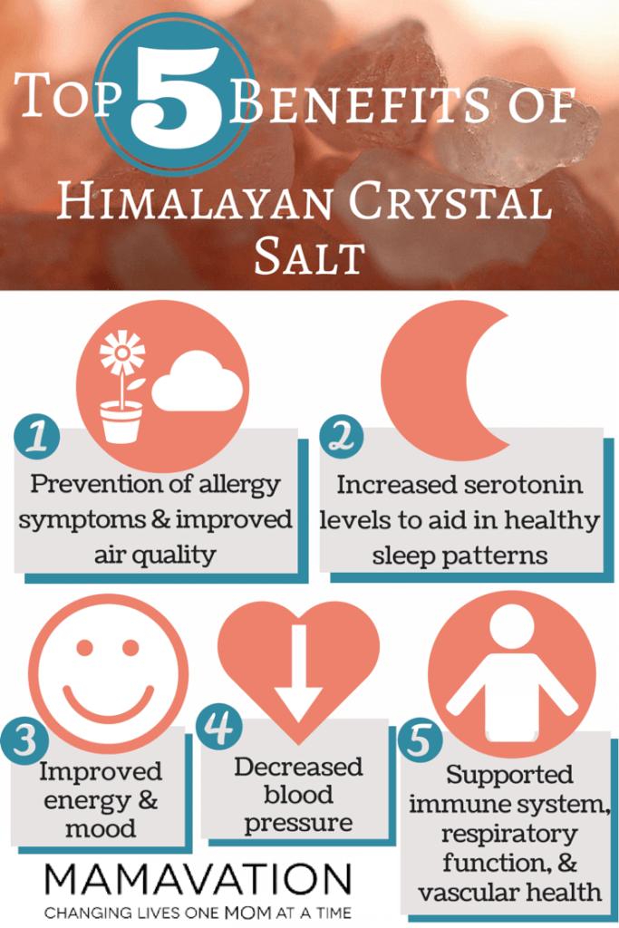 himalayan salt infographic