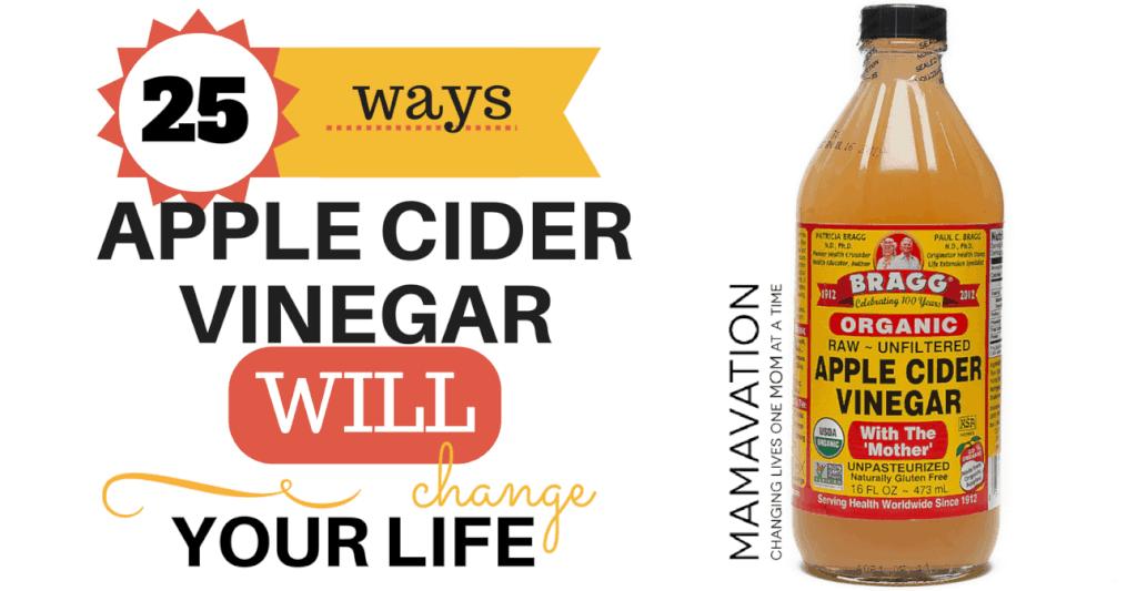25 Ways Apple Cider Vinegar