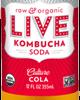 Raw and Organic Live Kombucha Soda is a better alternative