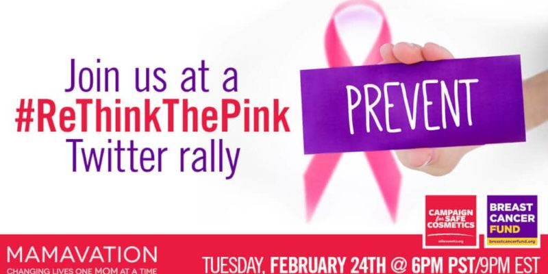 #RethinkthePink About Breast Cancer Twitter Party