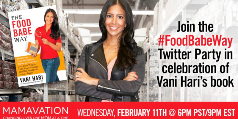 Join the #FoodBabeWay Twitter Party