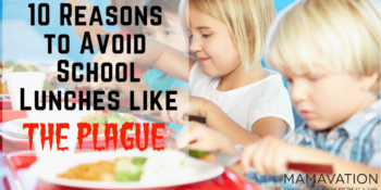 10 Reasons to Avoid School Lunches like the Plague