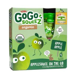 Go Go Squeeze Applesauce- Healthy Packed Lunch Ideas