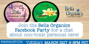 Bella Organics Facebook Party March 31st