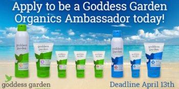 Goddess Garden Seeks 15 Blogger Ambassadors for Sponsored Campaign 1