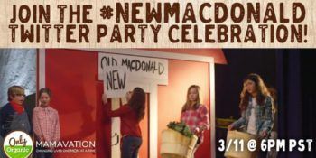 Join the #NewMacDonald Twitter Party 3/11