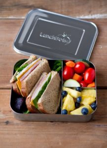 Lunch Bots are a wonderful stainless steel lunch option