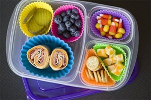 Silicone baking cups for the perfect packed lunch