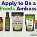 NOW Foods Ambassador Search