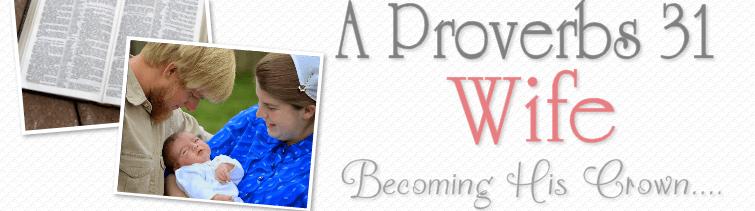 proverbs 31 wife - kendra