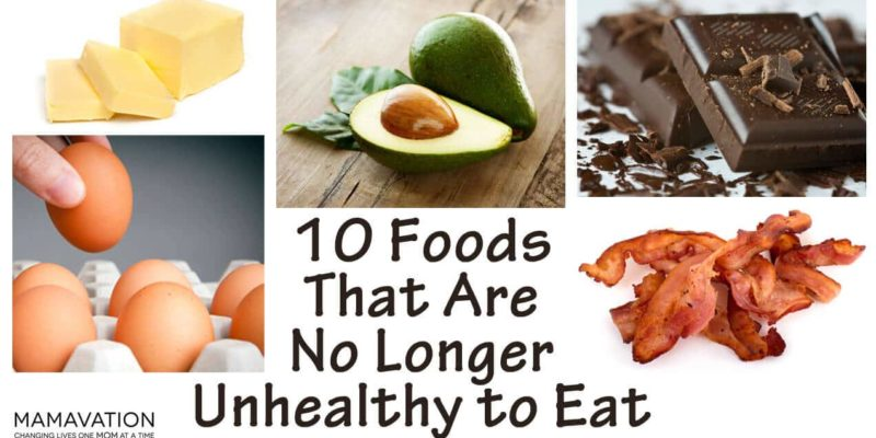 safe unhealthy foods