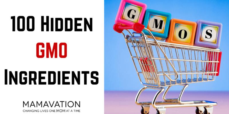 Hidden GMO Ingredients: 100 to lookout for 1