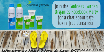 Goddess Garden Facebook party