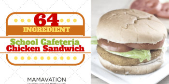 School Lunch Ingredients: 64 Ingredients