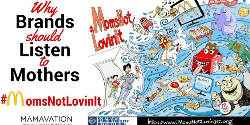 Why Brands should Listen to Mothers: #MomsNotLovinIt, MomsNotLovinIt
