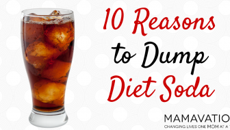 10 REASONS TO DUMP DIET SODA