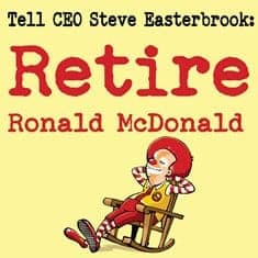 Email Stand-up-for-children's-health-sq_easterbrook Ronald McDonald