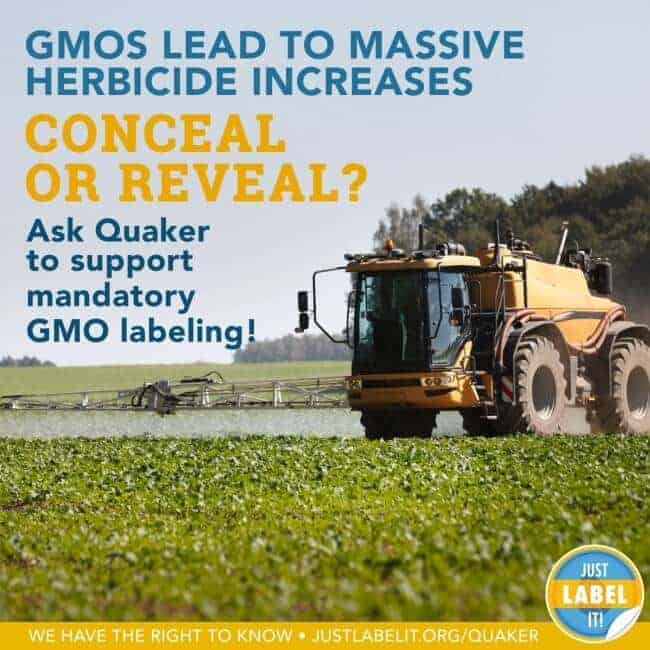 Will Quaker Oats Conceal or Reveal GMOs? GMO Labeling