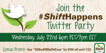 Join the #ShiftHappens Twitter Party July 22nd