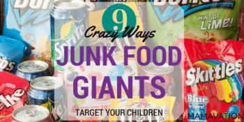 Marketing To Children: 9 Ways Junk Food Giants Target Children